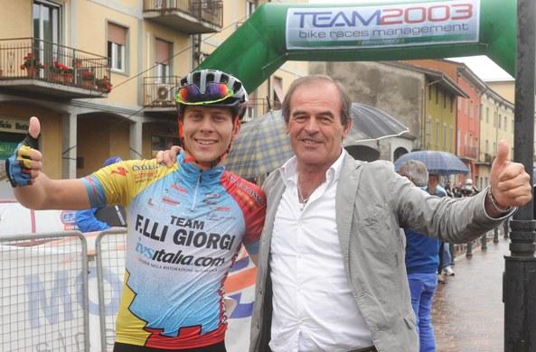 Mattia Noris con Carlo Giorgi (Rodella)
