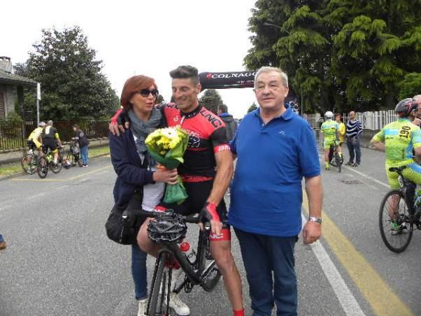 Signora Betty, Parrinello e Signor Torriani a Buscate (Foto Nastasi)