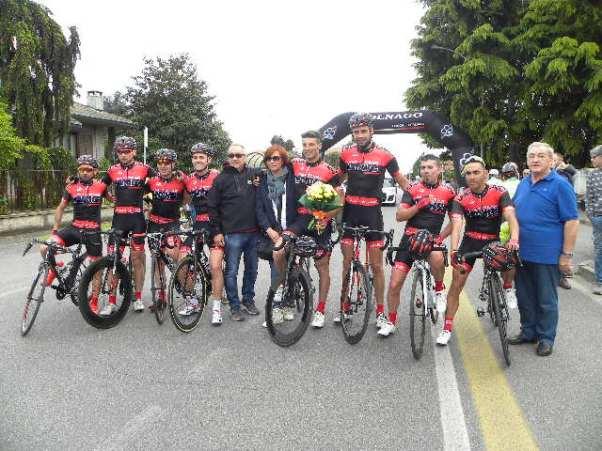 30.04.2016 – Buscate (Città Metropolitana Milano) – Ciclismo Amatoriale, Organizzazione S.C. Ceramiche Lemer : 6° Gran Premio Torriani