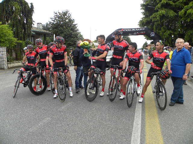 Team Jolly Wear col capitano Parrinello (Foto Nastasi)
