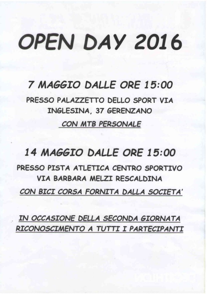 open day - 2