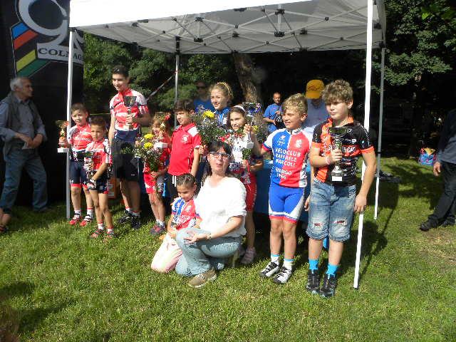 Tutti i vincitori maschi e femmine (Foto Nastasi)