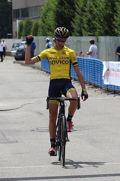 Andrea Figini vince a Pessano (Foto Kia)