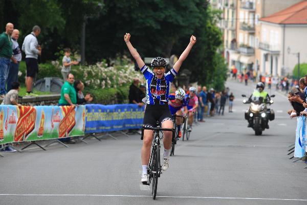 Giulia Filice prima vittoria stagionale a Bedizzole (Foto Ghilardi)