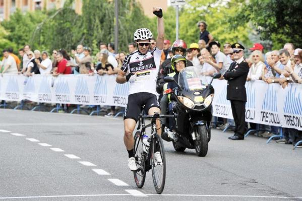 Cyrille Thiery vince a Tortona (Foto Soncini)