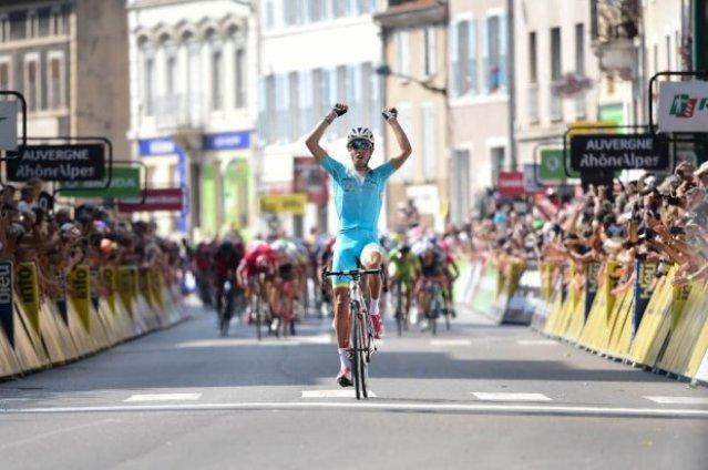 Fabio Aru vince la 3° tappa del 68° Criterium del Delfinato (Foto ASO)