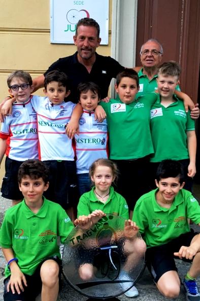 Giovanissimi Ju Sport con Zanini (Foto Ossola)