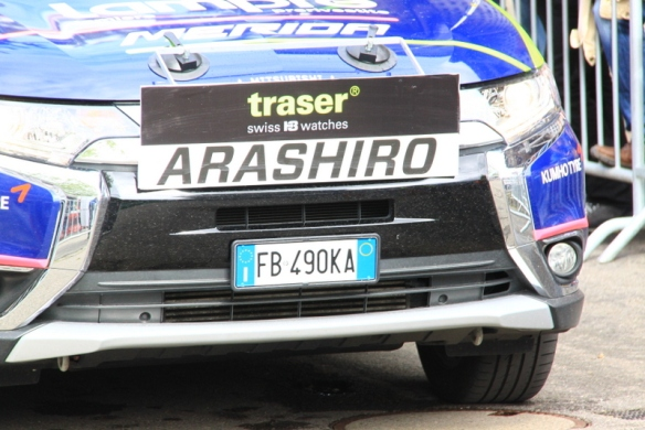 Ammiraglia Arashiro (Foto JC Faucher)