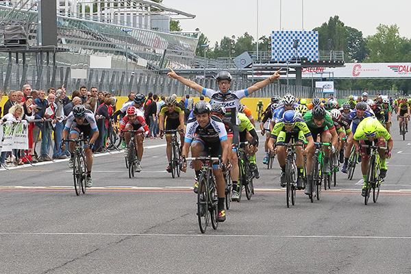 Francesco Lamon a Monza (Foto Kia)