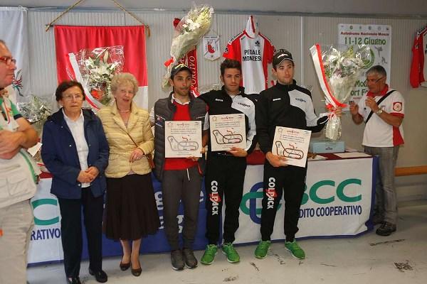 Premiazione del Podio (Foto Pisoni)