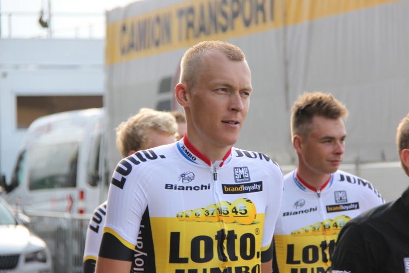 L'altra squadra sponsorizzata la Lotto (Foto Jean Claude Faucher)