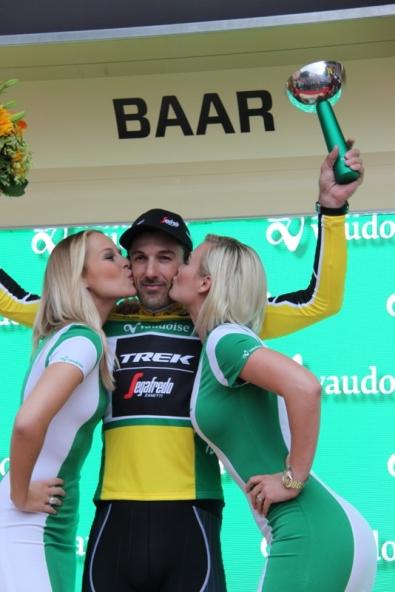 Fabian Cancellara vincitore cronometro apertura Tour de Suisse (JC Faucher)