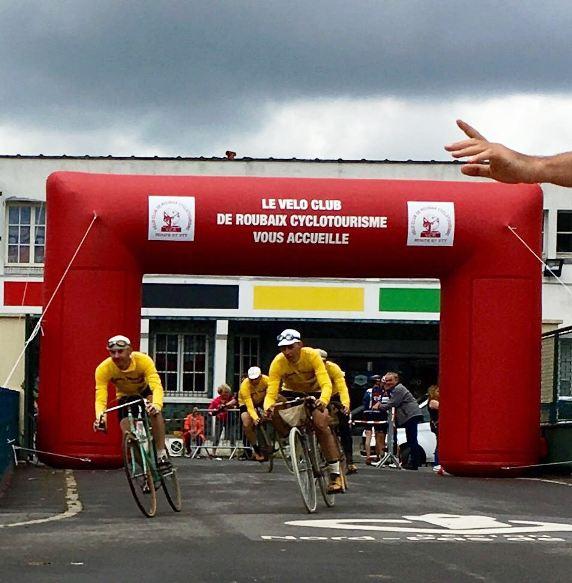 L'ingresso al Velodromo di Roubaix