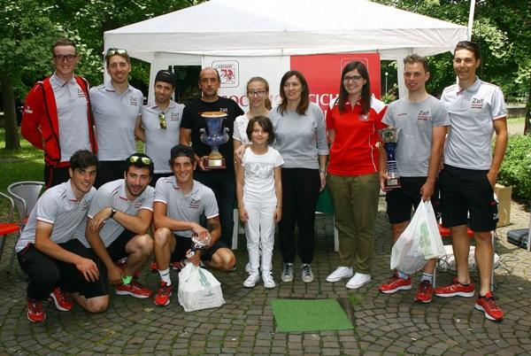 Premiazione squadra Zalf