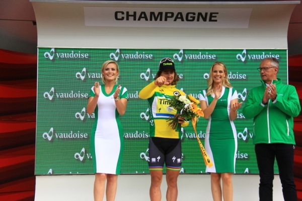 Sempre Sagan protagonista in maglia Oro (Foto JC Faucher)