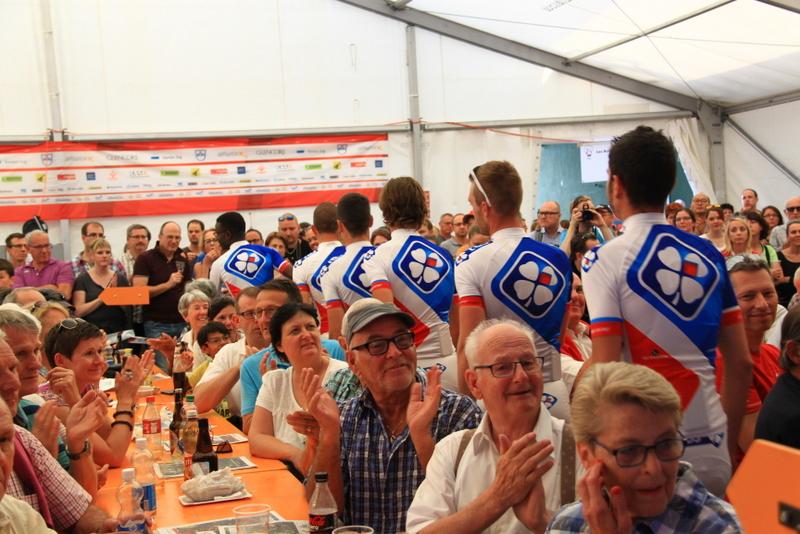 Presentazione Team Ag2R La Mondiale (Foto JC Faucher)