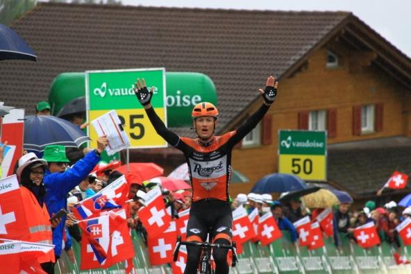Pieter Weening vince la 6^ Tappa (Foto JC Faucher)