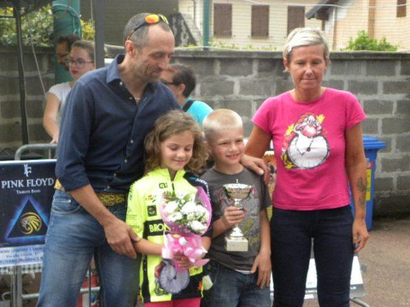 Una premiazione alla Gimkana di Casterno (Foto Nastasi)