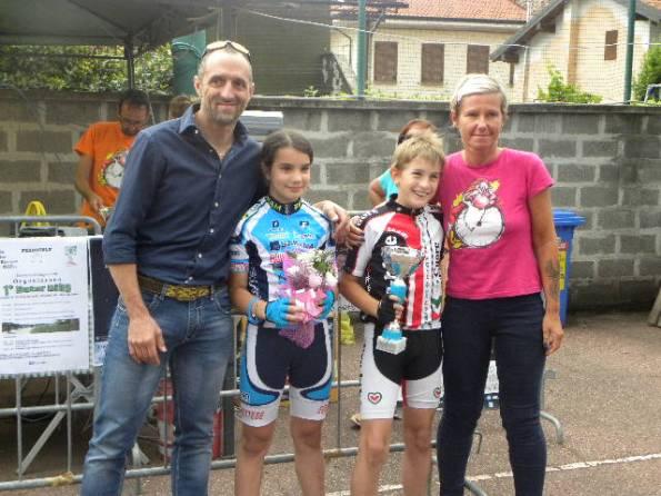 Luca Alessio Salvadeo e Anita Poletti vincitori tra i G5 (Foto Nastasi)
