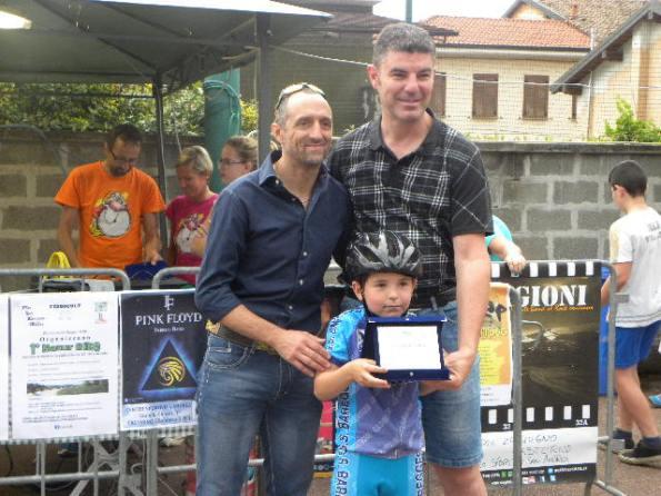 Premiazione del GS Bareggese (Foto Nastasi)