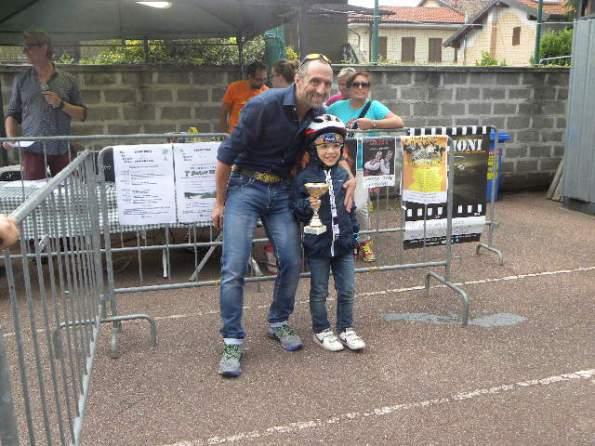 Una premiazione a Casterno (Foto Nastasi)
