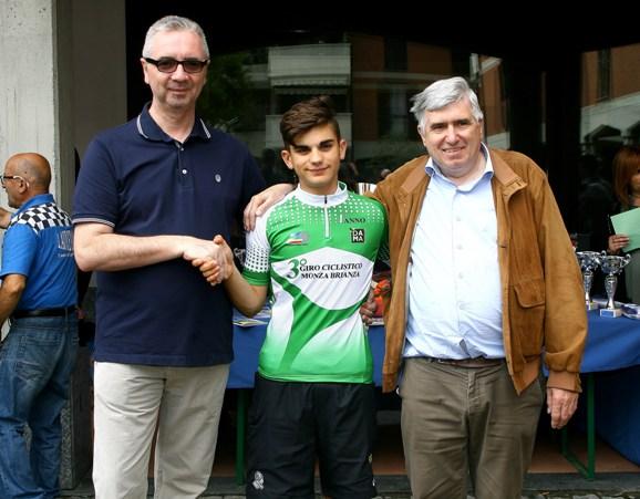 leader classifica Giro Brianza primo anno con Ghisotti Fabrizio (Foto Berry)