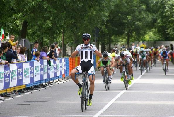 La netta vittoria di Davide Boscaro (Foto Berry)