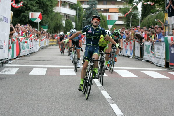 Mattia Bevilacqua vince Tricolore di Solbiate Arno (Foto Pisoni)