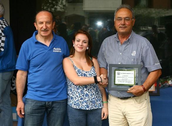 Premiazione D.S. dell'U.C. Mirano (Foto Berry)