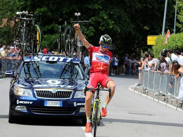 22.05.16 - lo juniores Davide Baldaccini vince al Brinzio (Foto Angelo Mambretti)