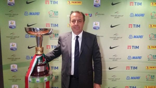 """Alessandro Brambilla e la Coppa del Campionato Italiano di Calcio """"Primavera Tim"""" a Bologna"""