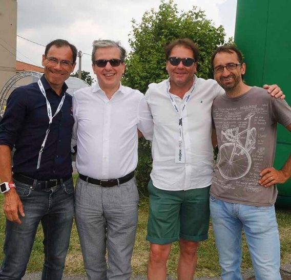 Cassani, Stagi, Noe^ (Foto Pisoni)