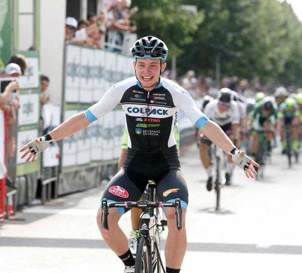Consonni vince a Comonte ed e^ Tricolore U23 (Foto Pisoni)