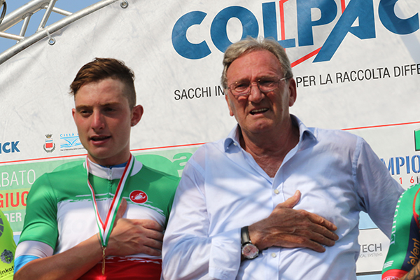Simone Consonni e Patron Colleoni (Foto Kia)