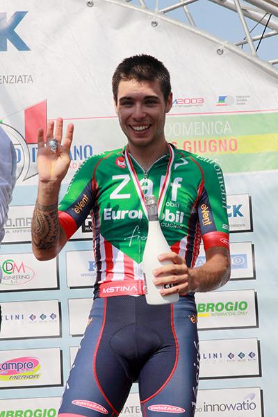 Filippo Rocchetti vincitore GPM (Foto Kia)