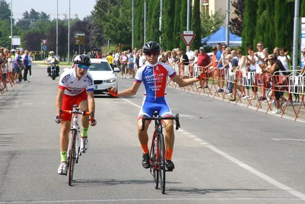 Emanuele Giuseppe Milone vince Campionato Regionale Lombardo esordienti 1^ anno (Foto Berry)