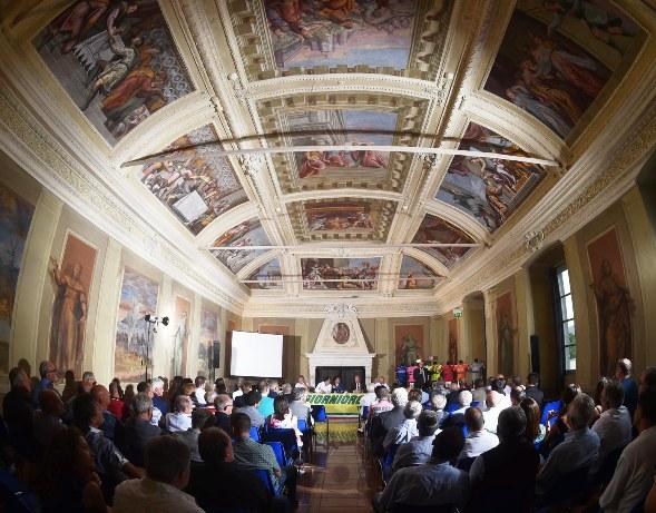 Presentazione 3GiorniOrobica 2016 a San Paolo d'Argon (Rodella)
