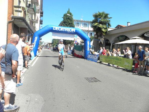 Andrea Berzi vince a Rescaldina (Foto Nastasi)