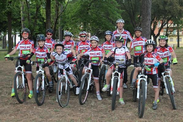 Scuola di ciclismo di Aprilia con Alfio Sciuto