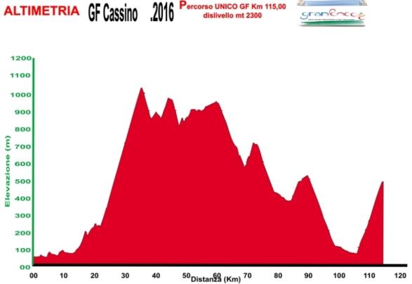 04.09.16 - ALTIMETRIA GF CittA di Cassino - altimetria