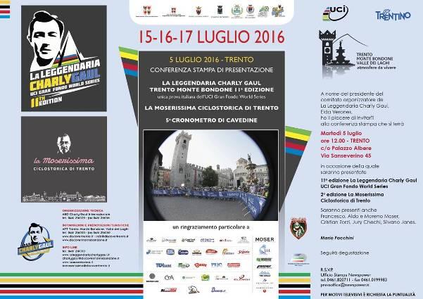 05.07.16 - Presentazione La Moserissima e Charly Gaul Invito