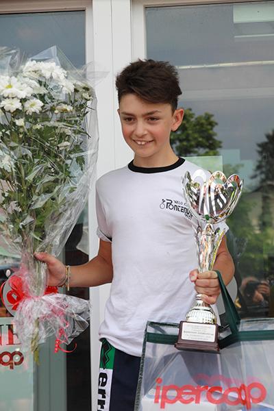 Nicola Rossi premiato (Foto Kia)