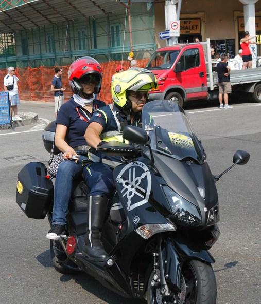 Valentina Rubagotti, Giudice Fci in moto (Foto Pisoni)