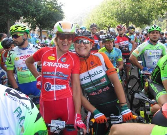 Ciclogirls al via