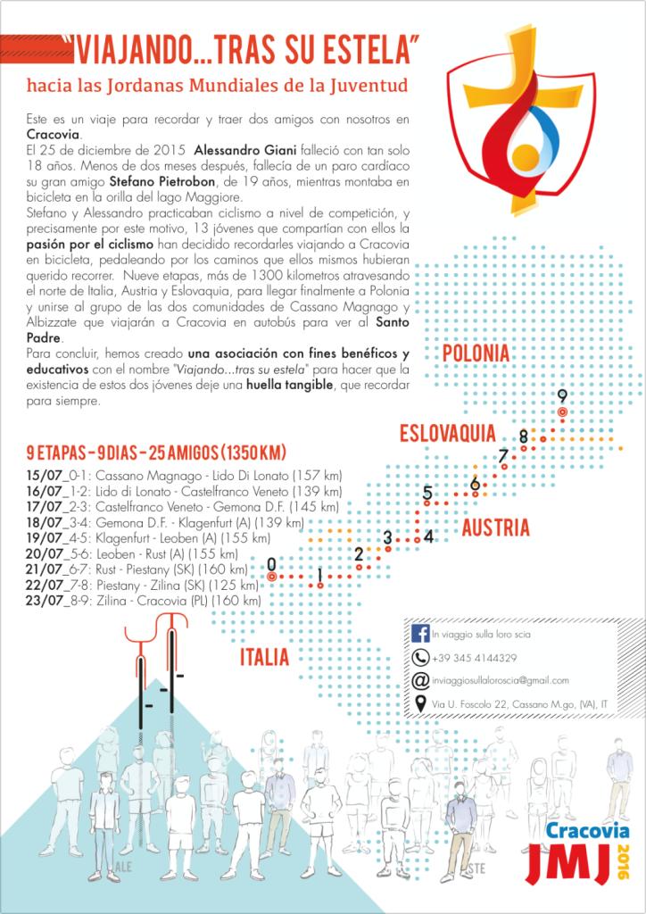 14.07.16 - Cassano Magnago - Giornata Mondiale della Gioventu