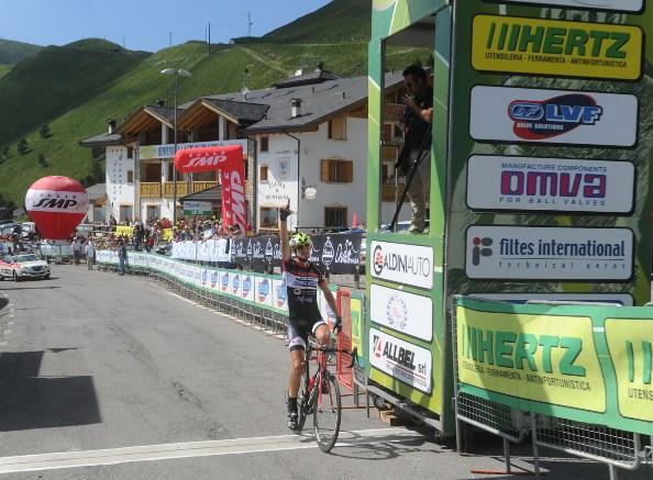 Alessandro Monaco vince la 3^ tappa (Rodella)