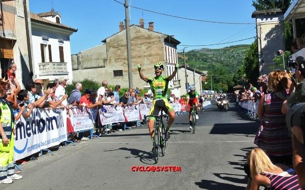 Raffaello Bonusi vince la 45^ Milano-Busseto (Foto Cyclo@system)