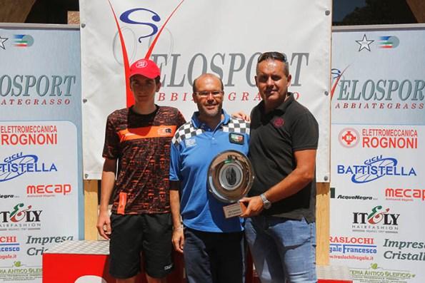 Da sx Ferrari, Andrea Ruboni e Bortolami (Foto Pisoni)