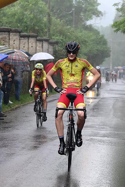 Davide Aldegheri, un 4^ posto che vale il titolo di Campione provinciale di Como (Foto Kia)