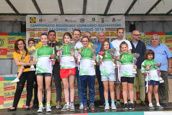 Campionesse regionali femminili (Foto Todaro)